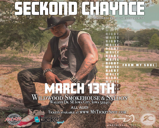 Seckond Chaynce At Wildwood Smokehouse & Saloon