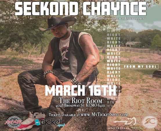 Seckond Chaynce At The Riot Room