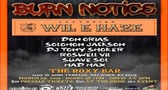 Wil E. Haze & Mad Max Live At The Roxy