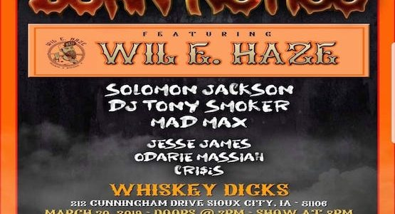 Wil E. Haze & Mad Max Live At Whiskey Dicks