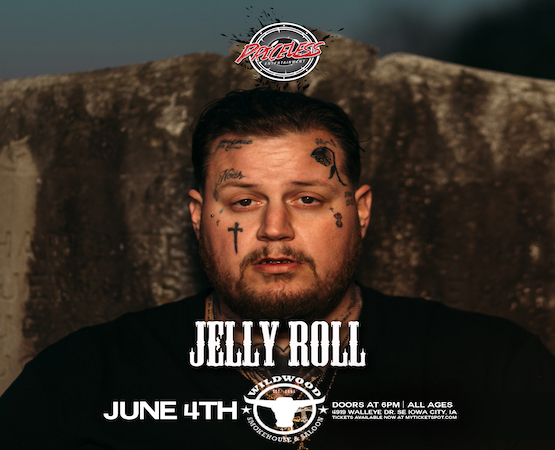 Jelly Roll's Crosses and Crossroads Tour At Wildwood Iowa City