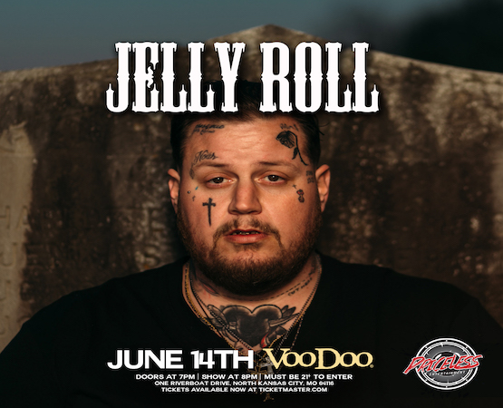 Jelly Roll's Crosses & Crossroads Tour At VooDoo Lounge