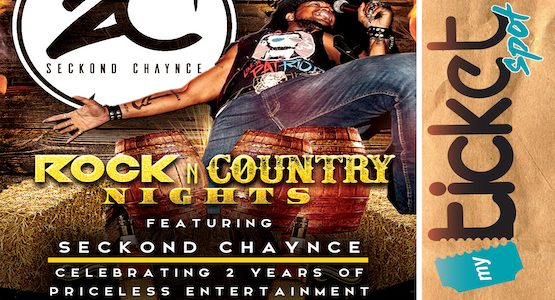 Rock N Country Nights With Seckond Chaynce